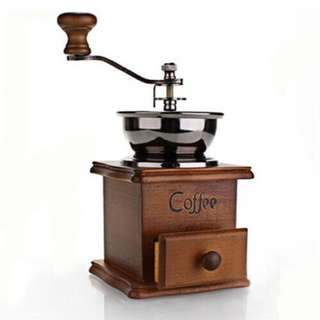 Manually Coffee Grinder Machine
