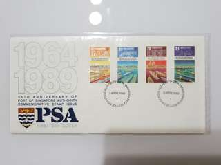 fdc Psa 1989 25th anniversary, shipping