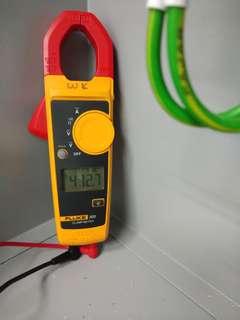 Perkhidmatan pemasangan lampu, kipas, aircond & lain2