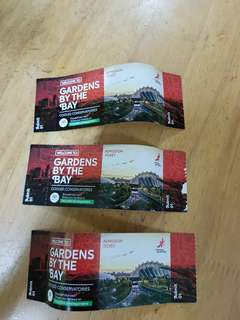 Gardens by the bay ticket flower dome plus cloud forest