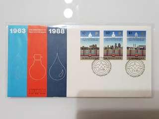 FDC 1988 pub 25th anniversary, commemorative stamp issue