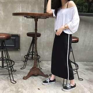 穿過一次正韓dogoose購買運動布裙 one size (nude, studio doe, ingrid, cover.com, cover, 小安)