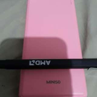 Miniso Pink powerbank