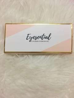 Eyesential luxcrime eyebrush set