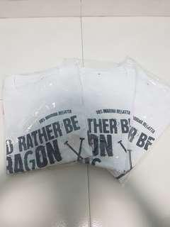 I'd rather be dragon boating tee ( DBS MARINA REGATTA)