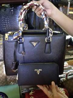Prada Bag with Wallet