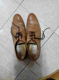 Zara真皮皮鞋〈優惠價〉