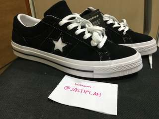 Jual Converse One Star Black/White New