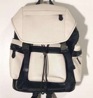 Coach backpack black and white