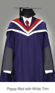 NUS Academic Dress for Masters of Architecture / Landscape Architecture