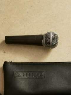 Sure SM 58 microphone