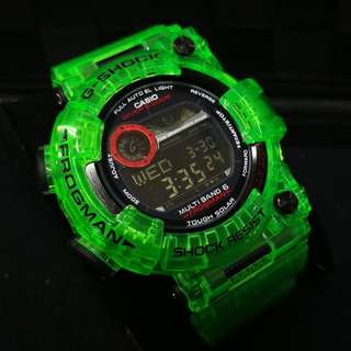 1:1 GSHOCK FROGMAN JELLY ICE