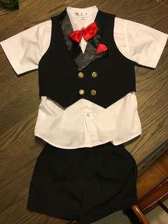 Boy formal suit/performance suit