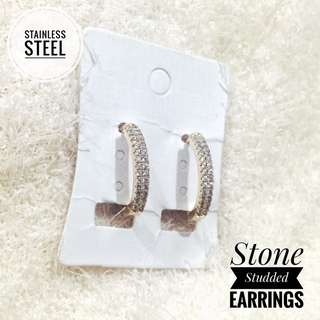 COD! Stone Studded Earrings
