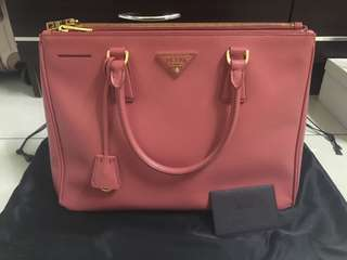 Authentic Prada Safiano Lux