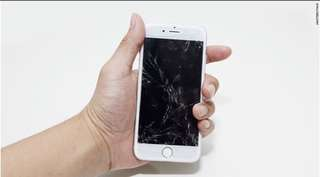Cracked your iPhone screen ? Pm us today !