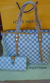 Louis Vuitton Bag with WALLET