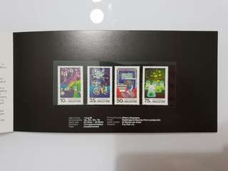 Singapore Stamps FDC unchopped unmarked EDB