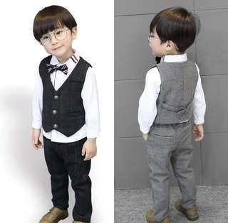 Page Boys Suit page boy wedding vest set