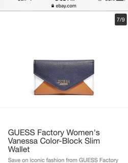 Auth guess trifold wallet
