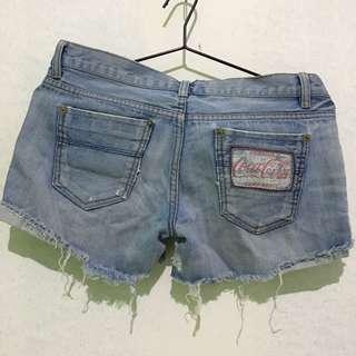 Coca-cola Denim Shorts