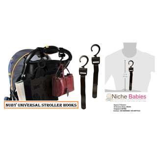 Nuby Universal Stroller Hooks