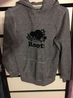 Roots salt & pepper hoodie
