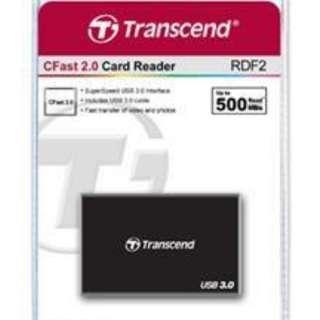 Transcend CFast Card Reader USB 3.0 - RDF2 (Up to 500MB/sec)