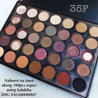 Morphe eyeshadow pallete 35F