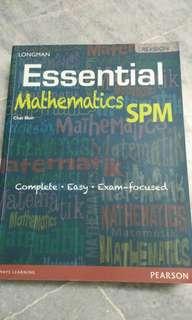 Mathematics SPM essential