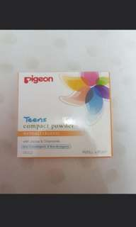 pigeon compact powder #commweek18