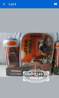 STAR WARS LUNCH SET FROM USA
