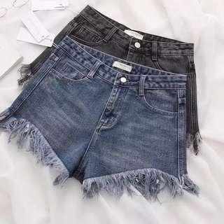 Denim Shorts 牛仔短褲