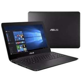 Kredit Laptop Bandung Asus X454YA AMD Dualcore