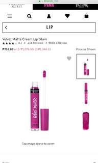 Victoria's Secret Velvet Matte Liquid Lipstick