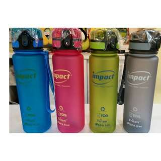 IMPACT 500ml USA Tritan Jump Lid Ergo Bottle