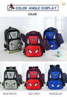 BOYS 2IN1 BAG - SPIDER MAN AND WATER RESISTANT