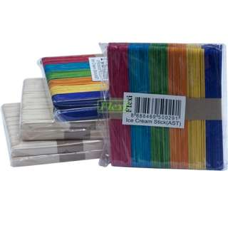 Ice Cream Stick - Colour (3pkts)