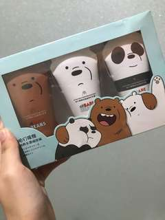 We bare bears handcream