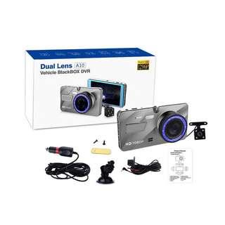 🥇🏅 Super clear vision/ Dual Lens Car camera WDR A10