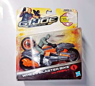 G.I. Joe Retalliation Motorbikes