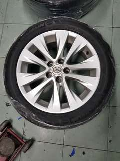 "Vellfire Original Rim 18"" for Sell with Michelin Tyre"