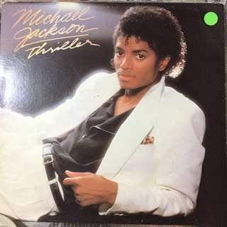 Michael Jackson Thriller Vinyl Record