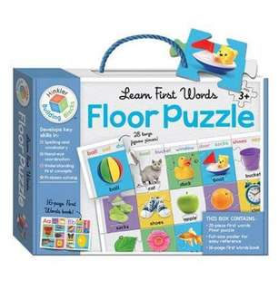 BNIB [Puzzle] Learn First words floor puzzle