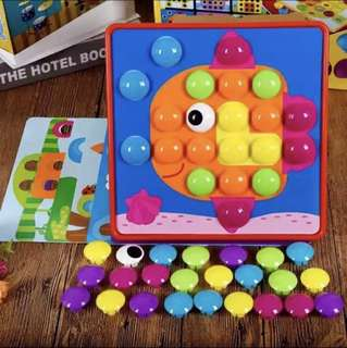 BNIB [Educational Toy] [In Stock] Colour learning button