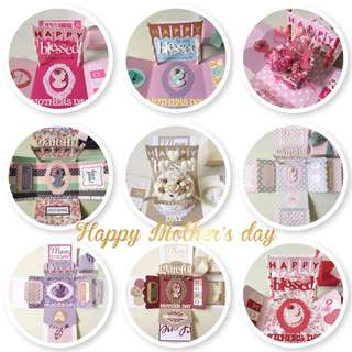 Happy Mother's Day Explosion Box Card