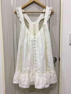 棉麻材質洋裝