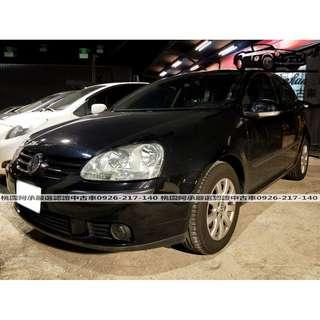 【FB搜尋桃園阿承】福斯 超人氣GOLF 2006年 1.6 黑色 二手車 中古車