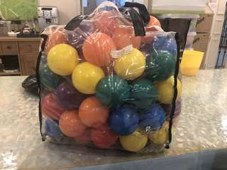 Play Balls - multiple colours!
