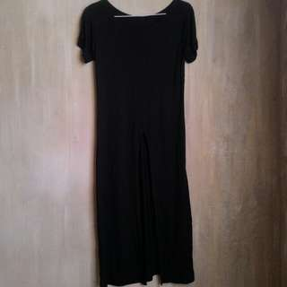 T-Shirt Dress with front slit